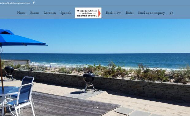 White Sands Resort by WP3 Web Design