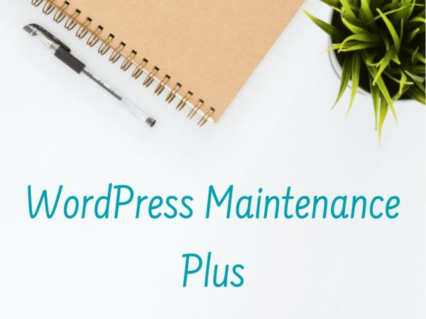 WordPress Maintenance Plus