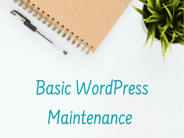 Basic WordPress Maintenance