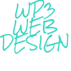 WP3 Web Design Logo