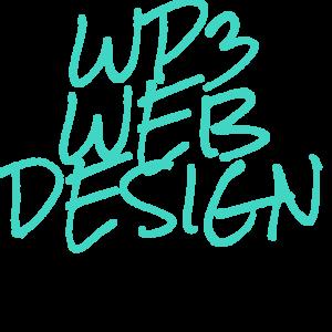 WP3 Web Design Logo